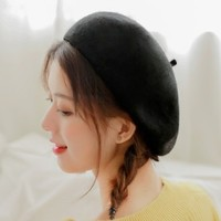 HUANYUN 欢韵 MZ-8001 女士秋冬贝雷帽