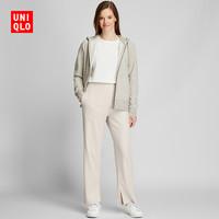 UNIQLO 优衣库 426083 女士宽罗纹直筒裤