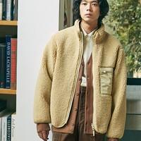 UNIQLO 优衣库 U系列 419541 仿羊羔绒两面穿夹克