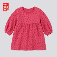 婴儿/幼儿 印花连衣裙(长袖) 422113 优衣库UNIQLO