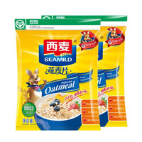 SEAMILD 西麦 营养纯燕麦片1000g*2袋 *3件
