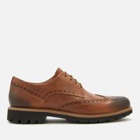 Clarks Batcombe Wing 男士布洛克鞋 *2双