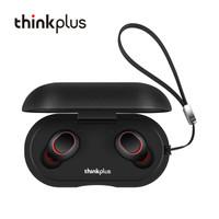 ThinkPlus TW80 TrackPods 真无线蓝牙耳机 tws双耳 黑色