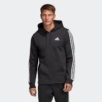 adidas阿迪达斯 MH 3S FZ FL DQ1455 男子连帽针织夹克