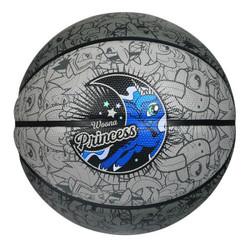 威尔胜(Wilson)新款训练比赛篮球 WB194C-月亮公主-发泡橡胶-7号球