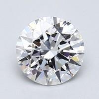 Blue Nile 1.00克拉 圆形切割钻石(切工EX,成色E,净度IF)
