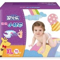Anerle 安儿乐 薄薄小轻芯 婴儿纸尿裤 XL70片*3包 *2件