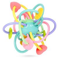 谷雨曼哈顿球牙胶婴儿玩具