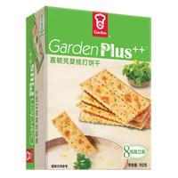 嘉顿/Garden 饼干零食 香菜味梳打饼干 芫荽梳打健康下午茶 192克(8包独立装) *2件