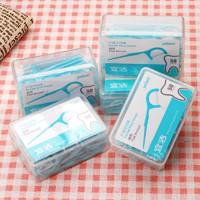 yekee 宜洁 盒装扁线牙线棒 5盒250支