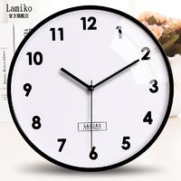 LAMIKO 挂钟石英表 10英寸