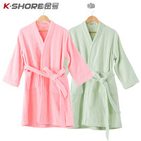 KINGSHORE 金号 全棉浴袍 (身高150-165cm)