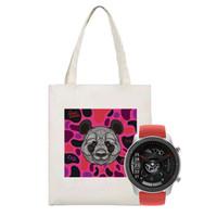 Amazfit GTR 42mm智能手表×Edison张博濒危动物保护联名帆布袋 套装