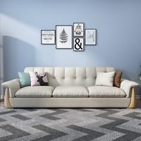绝品 小户型布艺沙发 三人位标准版
