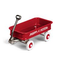 Radio Flyer  W1 儿童手推拉车摆件 四轮拖拉玩具车 红色