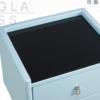 顾家家居 D-310 现代简约玻璃台面床头柜