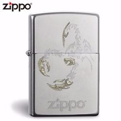 zippo纯铜打火机磨砂支持刻字 ZP-205  磨砂205蝎子
