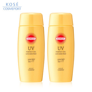 双11预售 : KOSE 高丝 suncut 强效防晒乳 SPF50+/PA++++ 100g *2件