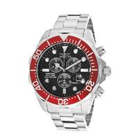 因维克塔(INVICTA)Pro Diver系列不锈钢材质银色男士石英表 INVICTA-12570 欧美品牌