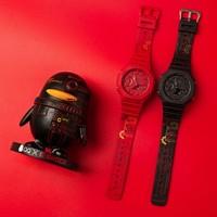 新品发售 : CASIO 卡西欧 G-SHOCK X QQ 时间胶囊限量合作款 GA-2100-4APRTC 运动腕表