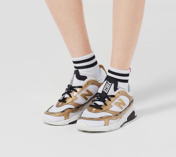 New Balance X-RACER系列 WSXRCHLD 女款休闲运动鞋