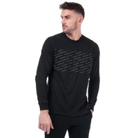 UNDER ARMOUR Mens Unstoppable Wordmark LS T-Shirt 男士长袖T恤