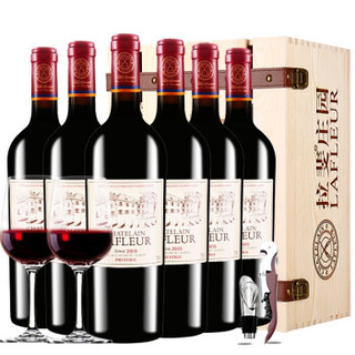 CHATELAIN LAFLEUR 拉斐 干红葡萄酒    750ml*6瓶