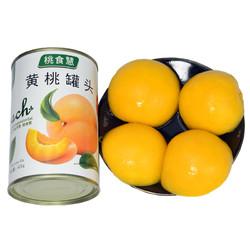 桃食慧新款425克X5罐装新鲜水果派新鲜零售送礼