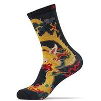 帝王体验  XTEP 特步  中国龙元素 中性运动袜
