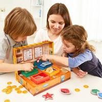 TOI桌面游戏弗兰克鱼铺儿童财商启蒙益智玩具亲子互动男女孩早教3-4-5岁