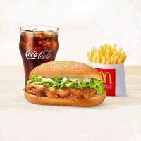 McDonald's 麦当劳 板烧可乐套餐 10次券