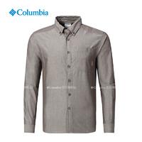 Columbia/哥伦比亚户外男款翻领长袖衬衫PM3494