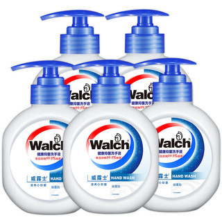 威露士洗手液抑菌滋润含丝蛋白护手家庭装525ml*5优惠促销家庭装 *2件