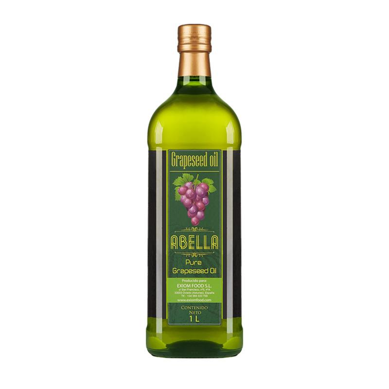 Abella 阿蓓莉葡萄籽油 1L *4件