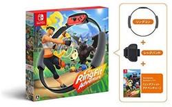 任天堂 Nintendo Switch 健身环大冒险 体感全身运动原创毛巾同捆