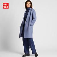 UNIQLO 优衣库 420228 双面呢茧形大衣