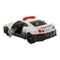 多美(TAKARA TOMY)102724 TOMY多美卡合金仿真小汽车模型男孩玩具105号日产尼桑GTR警车 *6件
