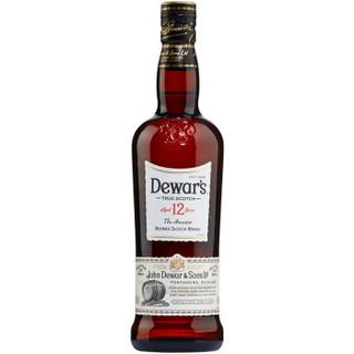 Dewar′s 帝王 12年 威士忌 700ml *2件