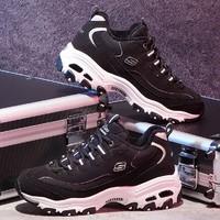 Skechers 斯凯奇 D'lites 66666125 女款熊猫鞋