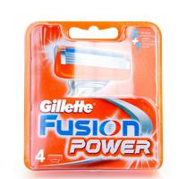 吉列(GILLETTE)锋隐动力刮胡刀片刀头 4片装