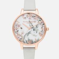 OLIVIA BURTON Pretty Blossom 兔子图案 女士时装腕表