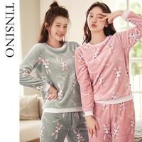 TINSINO 纤丝鸟 WHY9111105 女款睡衣两件套 *4件