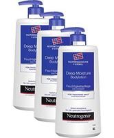 Neutrogena 露得清 挪威配方深层保湿润肤露 – 3 x 400ml