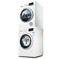 Bosch 博世 WAP282602W+WTW875601W 10+9公斤定制洗烘衣套装