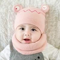 公主妈妈 宝宝毛线帽 0-22个月