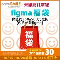 goodsmile figma福袋 价值350-500元之间 款式随机发送
