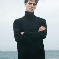 SELECTED 思莱德 419424A53 纯羊毛高领衫