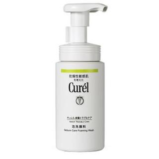 Curel 珂润 控油保湿 洁面泡沫 150ml *3件