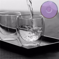 AlfunBel 艾芳贝儿 双层玻璃杯水杯  250ML