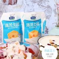 君乐宝 酸奶芝士浓缩酸奶 12包180g袋